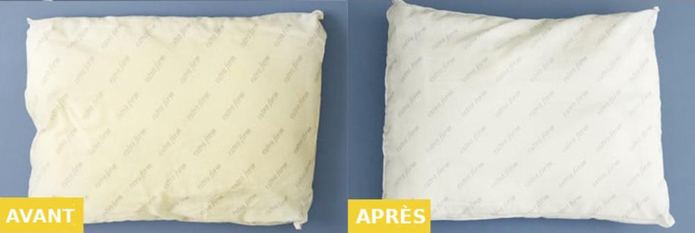 Le meilleur truc pour blanchir ses oreillers et leur redonner une seconde vie!