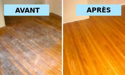 Nettoyant naturel pour laver les planchers de bois