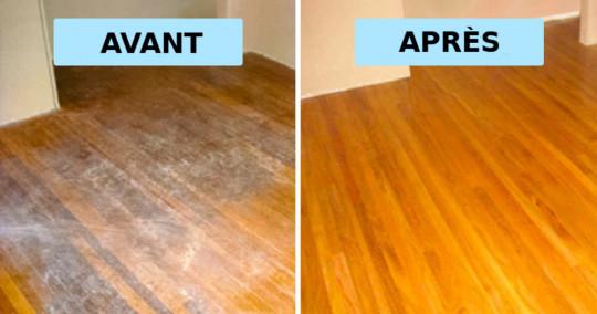 Nettoyant naturel pour laver les planchers