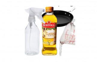 Le meilleur truc pour fabriquer votre propre vaporisateur à huile pour la cuisine!