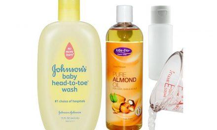 Nettoyant à maquillage maison