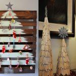 21 idées créatives pour faire un sapin de Noël différent et incroyable!