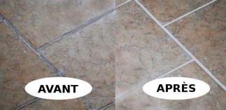 Le meilleur truc pour nettoyer les joints de céramique! (Très facile!)