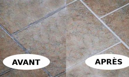 Nettoyer les joints de céramique