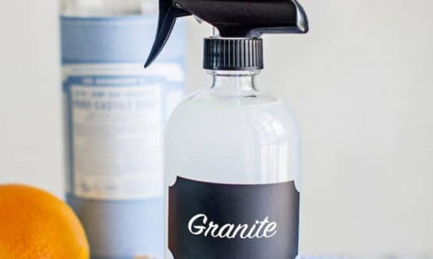 Nettoyant naturel pour le granite
