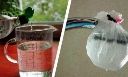 Nettoyer votre pomme de douche avec des produits naturels