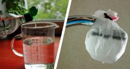Le meilleur truc pour nettoyer votre pomme de douche avec des produits naturels!