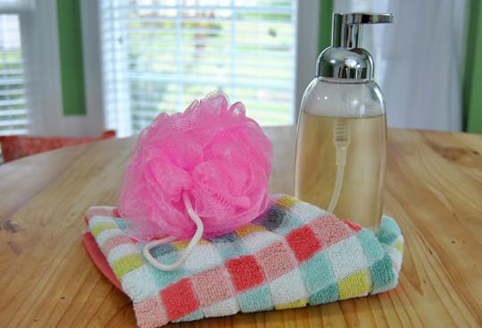Le meilleur savon moussant pour le corps!