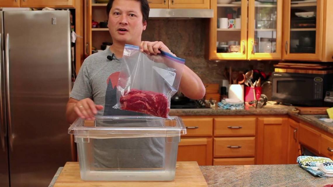 Le truc pour faire de l'emballage sous vide sans machine (Super facile!)