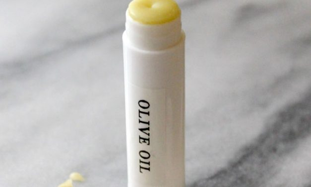 Lipstick maison à l'huile d'olive