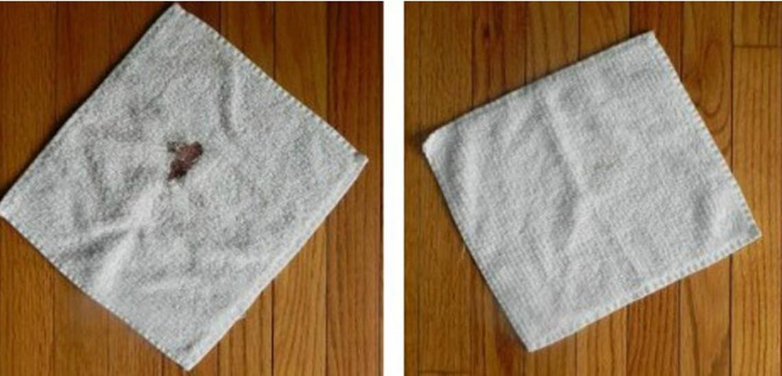 2 techniques faciles pour nettoyer une tache de sang tenace!