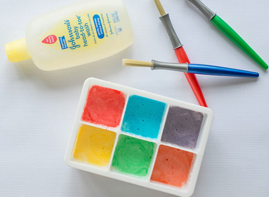 Une recette de peinture pour le bain facile à réaliser!