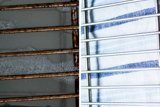 Truc facile et naturel pour laver les grilles du four (aucun produit chimique!)