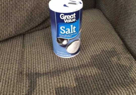 Truc facile pour enlever les taches d'urine sur un tissu (UN seul ingrédient!)