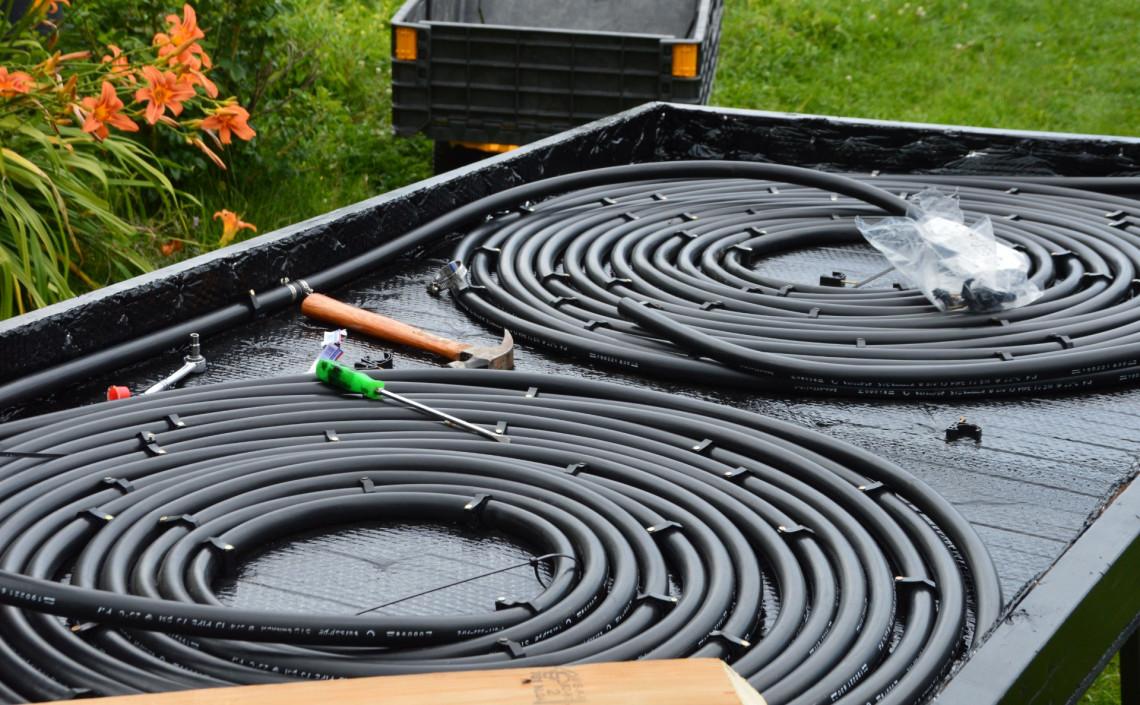 Comment construire un chauffe eau solaire efficace pour - Comment recuperer eau trouble piscine ...