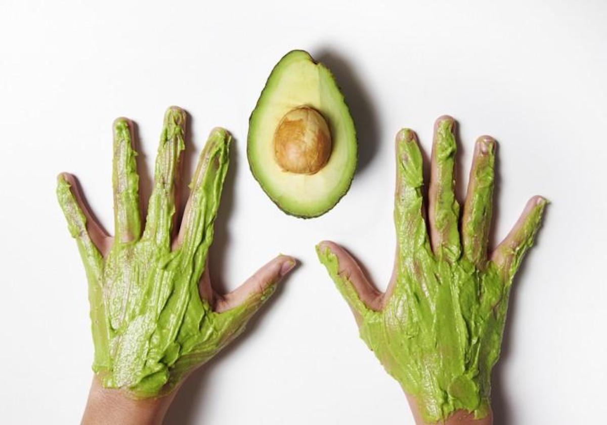 Crème pour les mains naturelle, sans ingrédient chimique, à base d'avocat