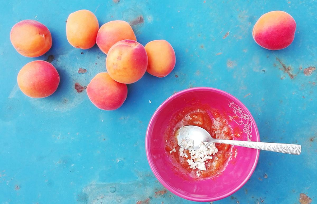 Masque maison pour le visage à base d'abricot (2 ingrédients seulement)!