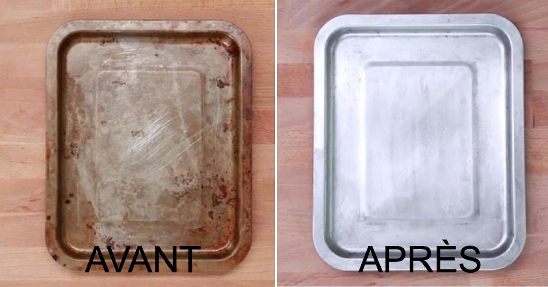 3 trucs faciles et efficaces pour nettoyer vos tôles à biscuits!