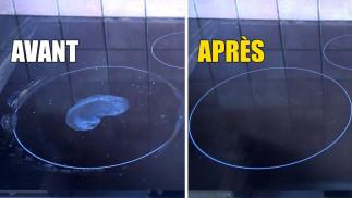 Nettoyez les taches de votre vitrocémique avec 2 ingrédients seulement!