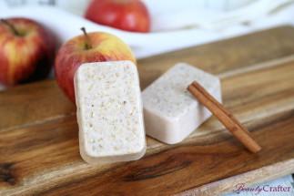 Une barre de savon facile à faire pour l'automne (À la tarte aux pommes!)