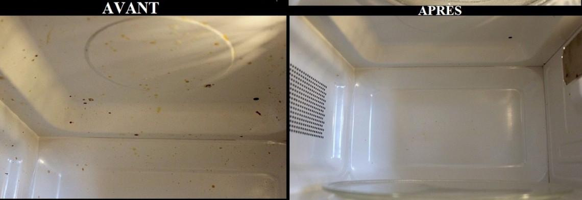 2 trucs faciles pour nettoyer votre micro-ondes sans aucun effort!