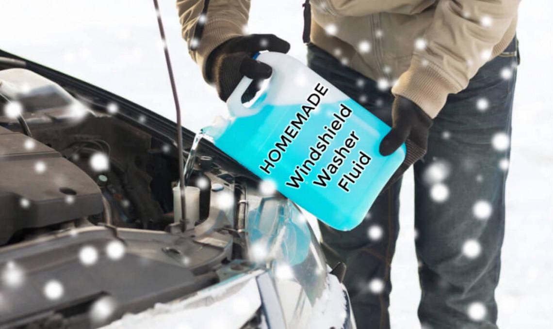 Recette de lave-glace maison parfait pour l'hiver (Très économique)!