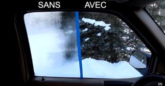 Vaporisateur maison anti-buée pour les vitres de voiture (Très efficace!)