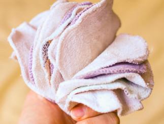 Détachez de façon naturelle vos tampons démaquillants